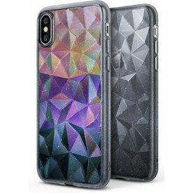 Husa Ringke iPhone X/Xs Prism Glitter Gray