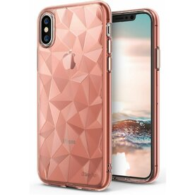 Husa Ringke iPhone X Prism Rose Gold