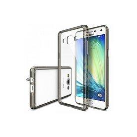 Husa Samsung Galaxy A3 2015 Ringke FUSION SMOKE BLACK+BONUS folie protectie display Ringke