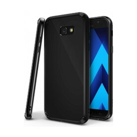 Husa Samsung Galaxy A7 2017 Ringke FUSION SHADOW BLACK + BONUS folie protectie display Ringke
