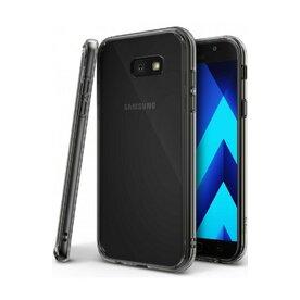 Husa Samsung Galaxy A7 2017 Ringke FUSION SMOKE BLACK + BONUS folie protectie display Ringke