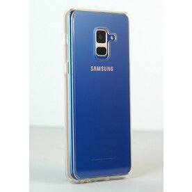 Husa Samsung Galaxy A8 2018 Ringke FUSION CLEAR + BONUS folie protectie display Ringke