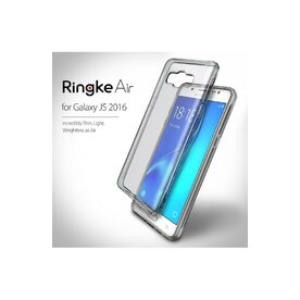 Husa Samsung Galaxy J5 2016 Ringke AIR SMOKE BLACK + bonus folie Ringke Invisible Screen Defender