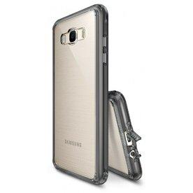 Husa Samsung Galaxy J7 2016 Ringke FUSION SMOKE BLACK + bonus folie Ringke Invisible Screen Defender