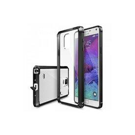 Husa Samsung Galaxy Note 4 Ringke FUSION NEGRU+BONUS folie protectie display Ringke
