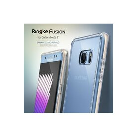 Husa Samsung Galaxy Note 7 Fan Edition Ringke AIR CRYSTAL VIEW + bonus folie Ringke Invisible Screen Defender