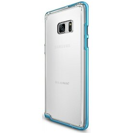 Husa Samsung Galaxy Note 7 Fan Edition Ringke FRAME OCEAN BLUE + BONUS folie protectie display Ringke
