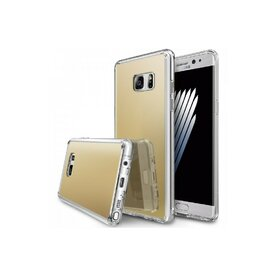 Husa Samsung Galaxy Note 7 Fan Edition Ringke MIRROR ROYAL GOLD + BONUS folie protectie display Ringke