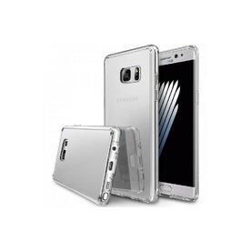Husa Samsung Galaxy Note 7 Fan Edition Ringke MIRROR SILVER + BONUS folie protectie display Ringke