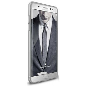 Husa Samsung Galaxy Note 7 Fan Edition  Ringke Slim FROST GREY + Bonus folie Ringke Invisible Screen Defender