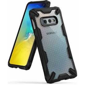 Husa Samsung Galaxy S10 Lite Ringke FUSION X Design Hexagon Black