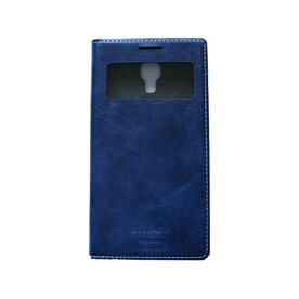 Husa Samsung Galaxy S5 Arium Buffalo Flip  View albastru navy
