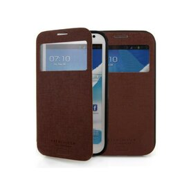 Husa Samsung Galaxy S5 Arium French Bumper Flip View maro