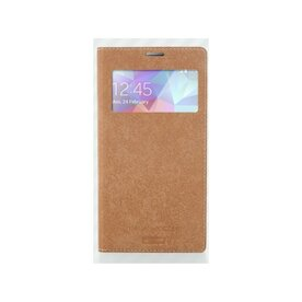Husa Samsung Galaxy S5 Arium Italian Pocket Flip View auriu