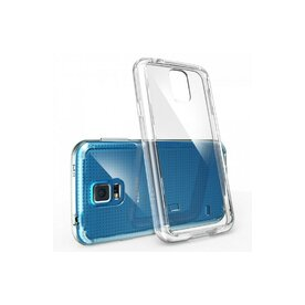Husa Samsung Galaxy S5 Ringke FUSION CRYSTAL VIEW TRANSPARENT+BONUS folie protectie display Ringke
