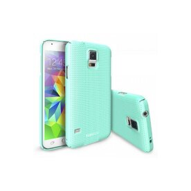 Husa Samsung Galaxy S5 Ringke SLIM Dot Mint+BONUS folie protectie display Ringke