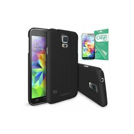 Husa Samsung Galaxy S5 Ringke SLIM Dot SF BLACK+BONUS folie protectie display Ringke