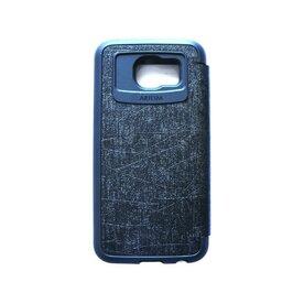 Husa Samsung Galaxy S6 Arium Bumper Flip View negru