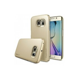 Husa Samsung Galaxy S6 Edge Plus Ringke SLIM ROYAL GOLD+BONUS folie protectie display Ringke