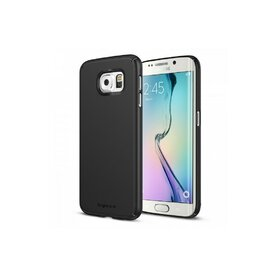 Husa  Samsung Galaxy S6 Edge Ringke SLIM SF BLACK+BONUS folie protectie display Ringke