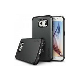 Husa Samsung Galaxy S6 Ringke ARMOR MAX GUN METAL+BONUS folie protectie display Ringke