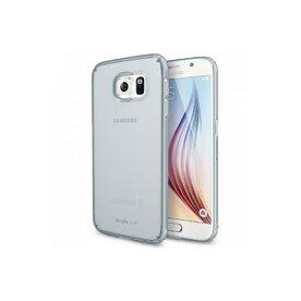Husa Samsung Galaxy S6 Ringke SLIM FROST GRI + BONUS folie protectie display Ringke