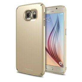 Husa Samsung Galaxy S6 Ringke SLIM ROYAL GOLD+BONUS folie protectie display Ringke