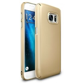 Husa Samsung Galaxy S7 Ringke SLIM ROYAL GOLD + BONUS folie protectie display Ringke