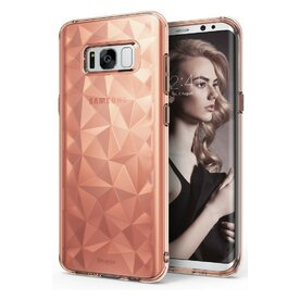 Husa Samsung Galaxy S8 Plus Ringke Prism Rose Gold