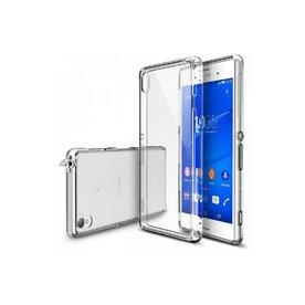 Husa Sony Xperia Z3 Ringke FUSION CRYSTAL VIEW TRANSPARENT+BONUS folie protectie display Ringke