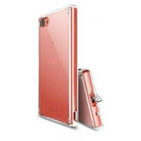 Husa Sony Xperia Z5 Compact Ringke FUSION CRYSTAL VIEW TRANSPARENT + BONUS folie protectie display