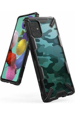 Husa Xiaomi Mi Note 10/Note 10 Pro FUSION X Design Negru Camuflaj