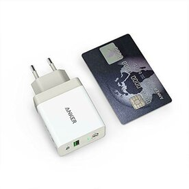 Incarcator de retea Anker PowerPort+ 1 Qualcomm Quick Charge 3.0 USB Alb