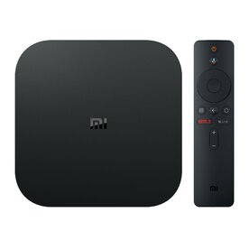 Mediaplayer Xiaomi MI TV Box S, 4K, Voice Control, Negru