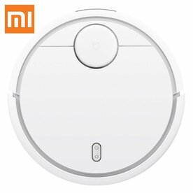 Robot aspirare Xiaomi Mi Robot Vacuum, 50 W, 5200 mAh, Smart Vision Mapping, Alb
