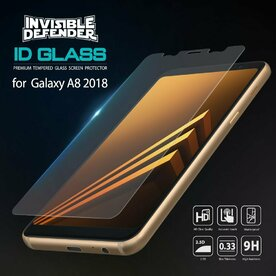 Set 3x Folie sticla securizata Ringke Galaxy A8 2018 9H 0,33 mm Ringke ID Glass