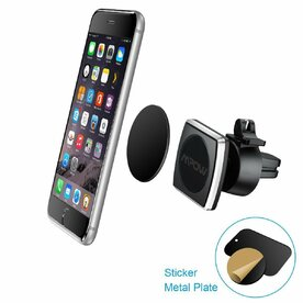 Suport auto universal pentru telefoane magnetic Mpow One Touch air vent