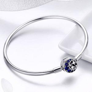 Bratara din argint 925 Blue Starry Sky