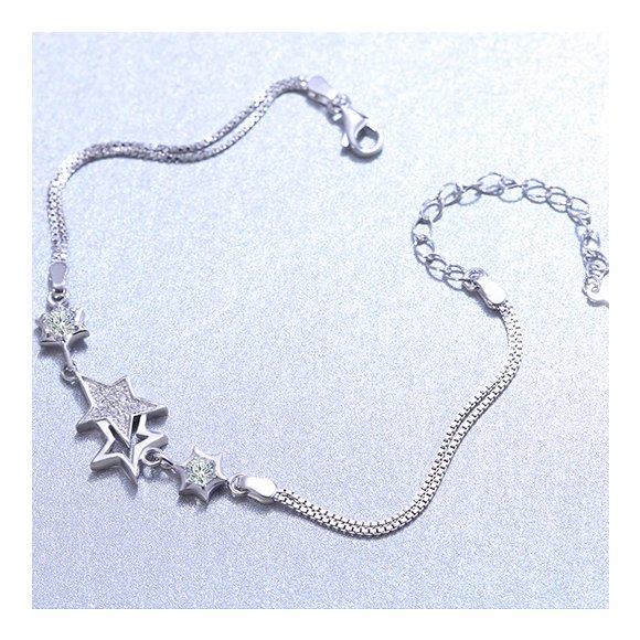 Bratara din argint Beautiful Stars