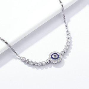 Bratara din argint Blue Eye Tennis
