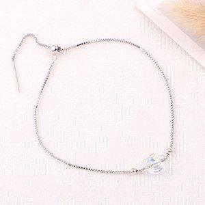 Bratara din argint cu cristal Swarovski Boreal Crystal Heart