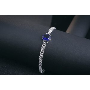Bratara din argint Massive Blue