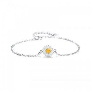 Bratara din argint Sun Flower