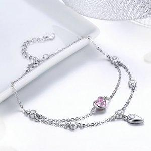 Bratara din argint Pink Sweetheart