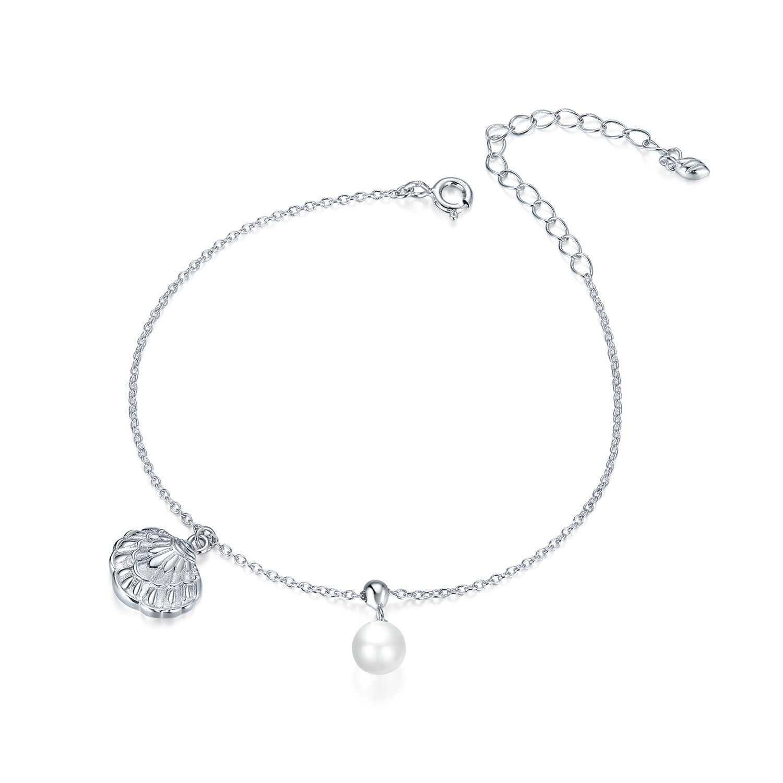 bratara din argint shell and pearl 74398 4