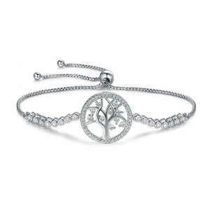 Bratara din argint Tennis Tree