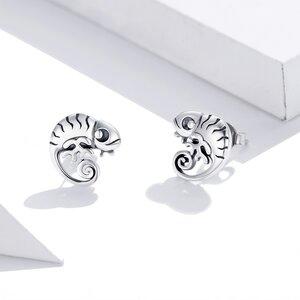 Cercei din argint Baby Cameleon