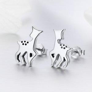 Cercei din argint Baby Deer