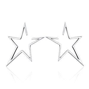 Cercei din argint Be a Star