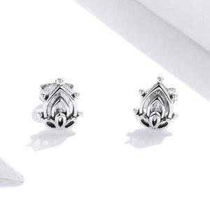 Cercei din argint Beautiful Lotus